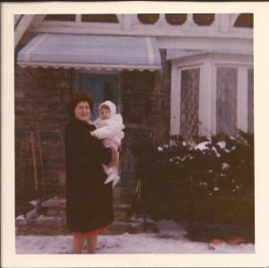 My mother and I in 1962, a time in my life when she could do no wrong.